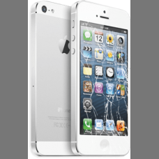 iPhone 5S Cracked Screen Repair $55